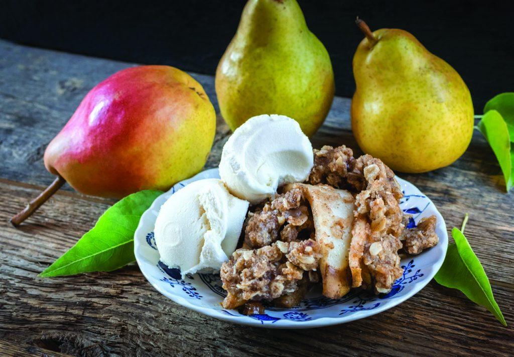 Maple Pear Crumble