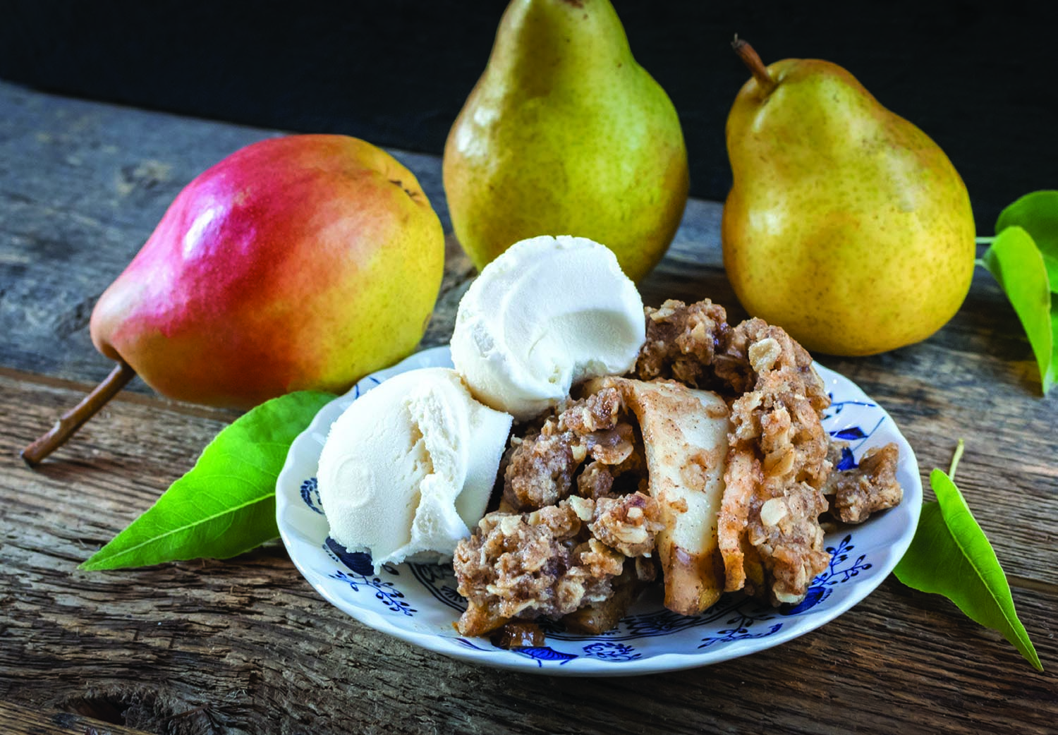 Maple Pear Crumble