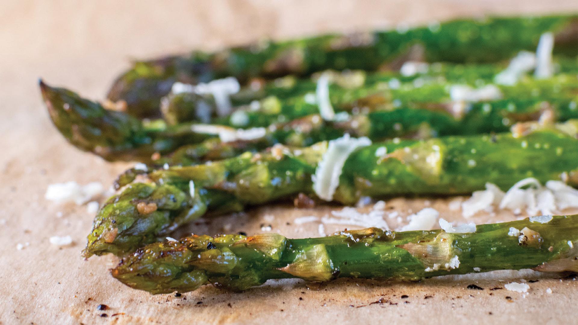 Roasted Asparagus Recipe Photo