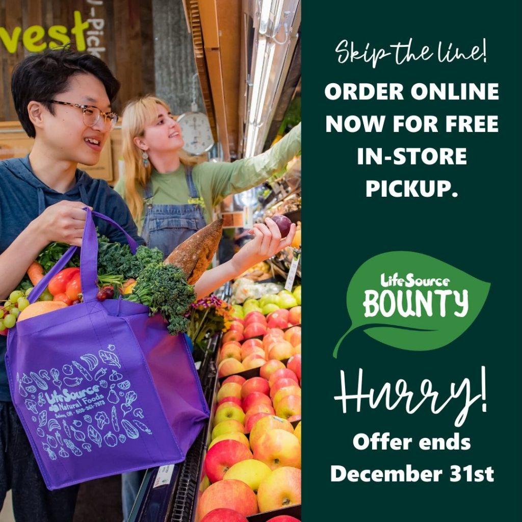 online orders free pickup