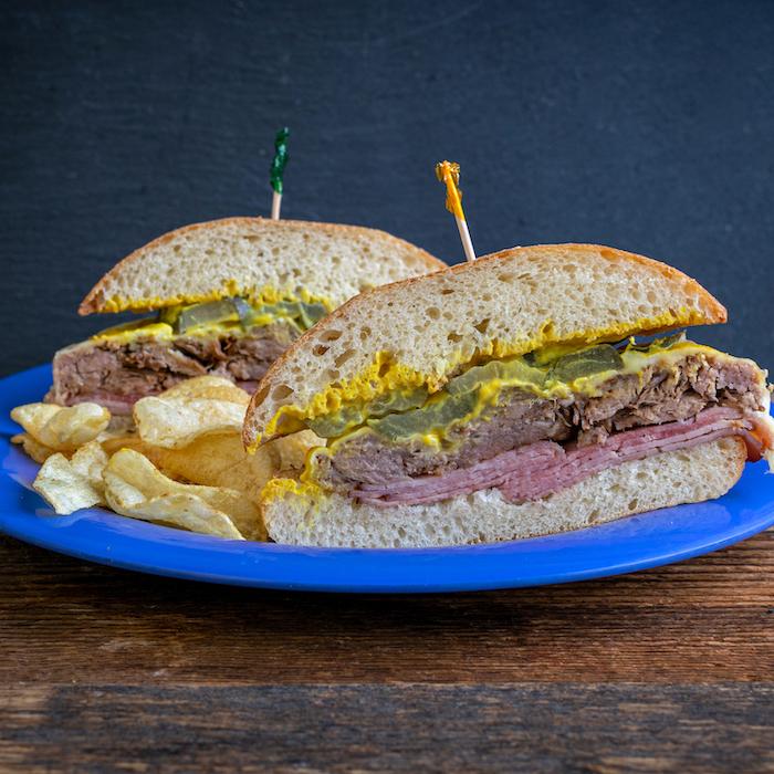 Deli Sandwich Cubano