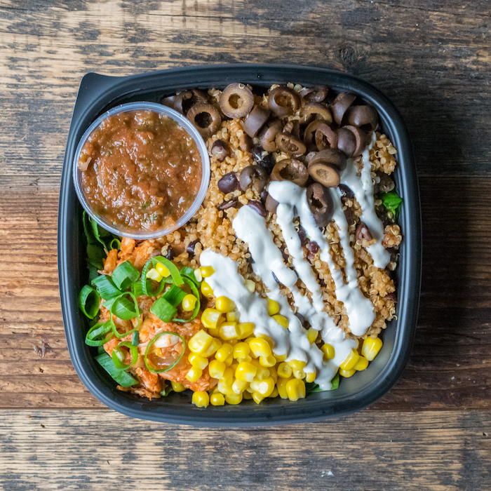 deli vegan burrito bowl