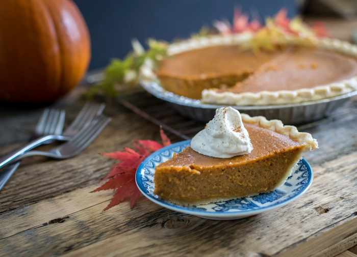 made from scratch pumpkin pie order now