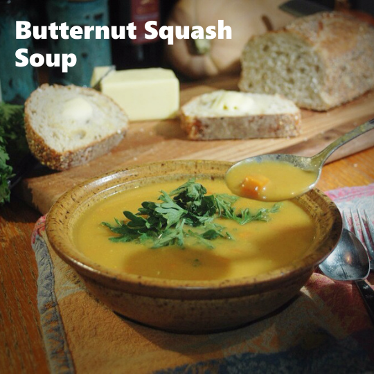 Butter Nut Squash Soup