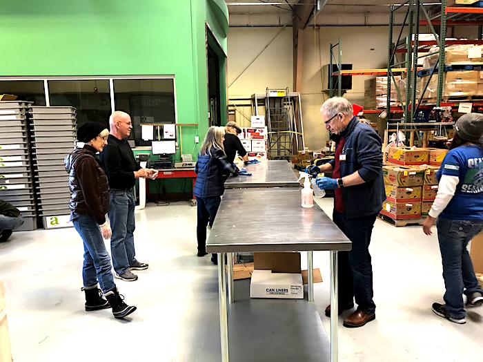 Marion Polk Food Share Volunteer December 2019