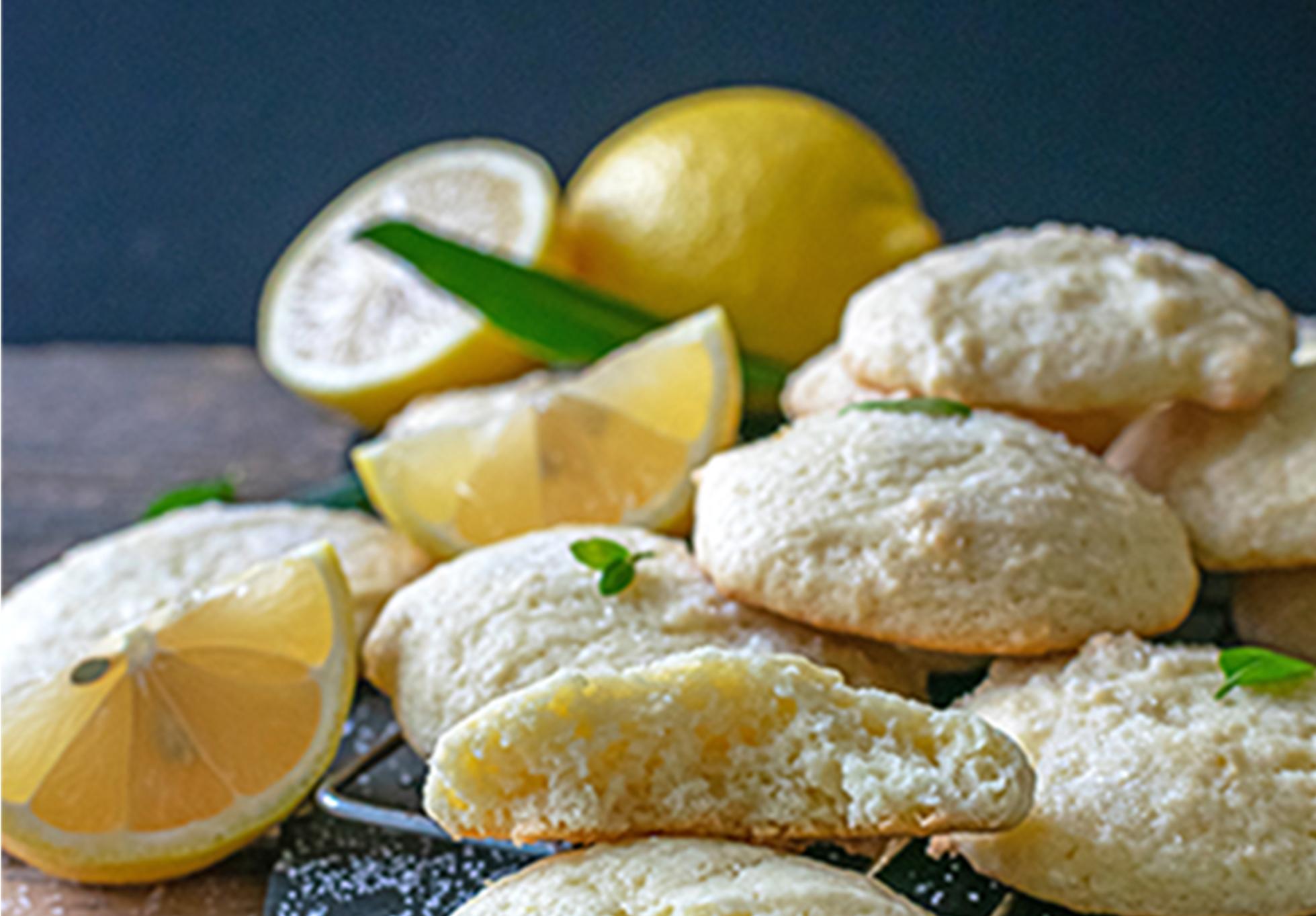 Lemon Olive Oil Cookies