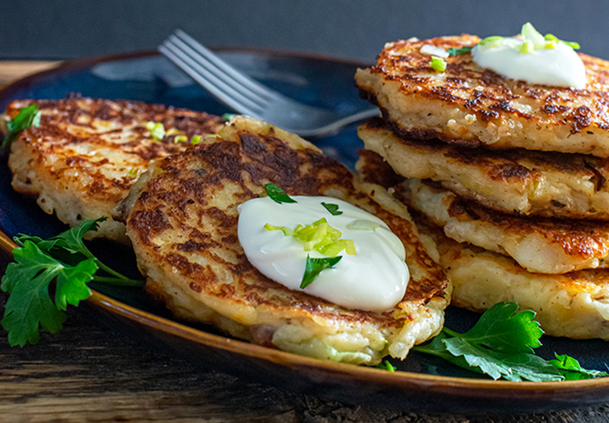 Loaded Mashed Potato Pancake Recipe