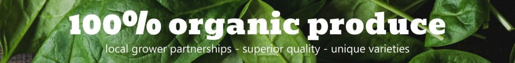 100% Organic Produce