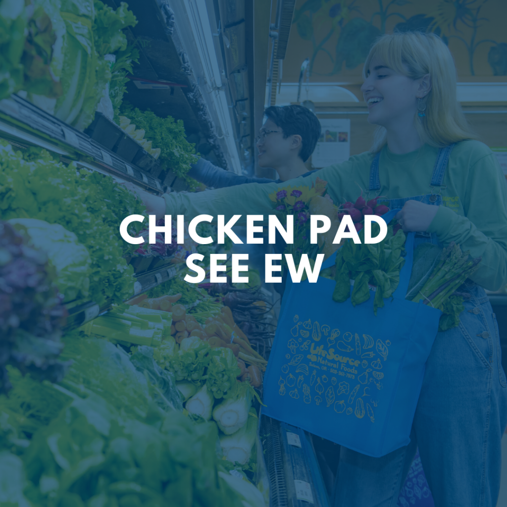 Chicken Pad See Ew