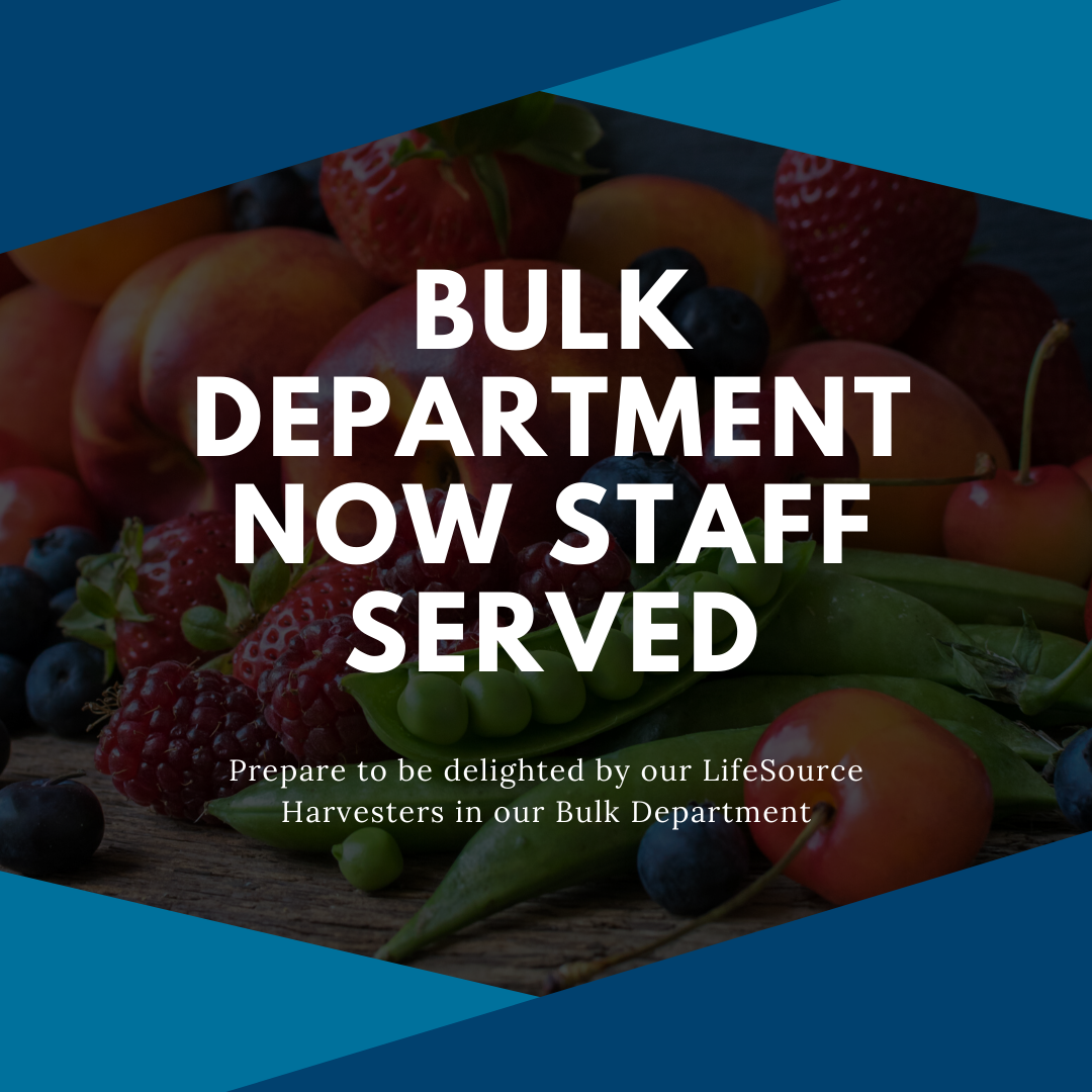 bulk department now self serve