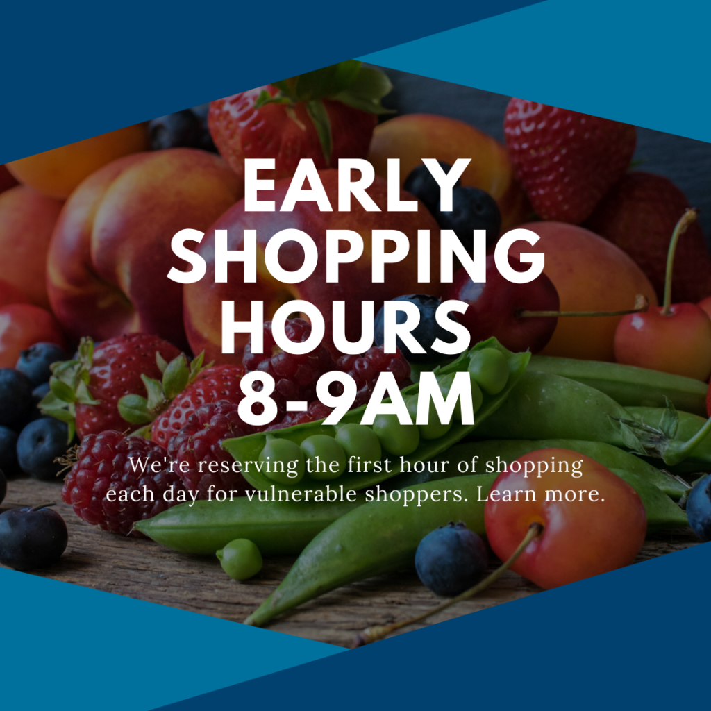 early shopping hours