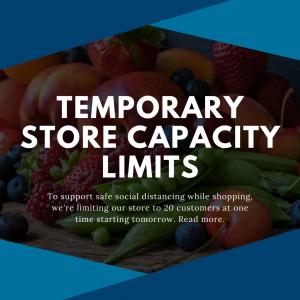 new store capacity limits