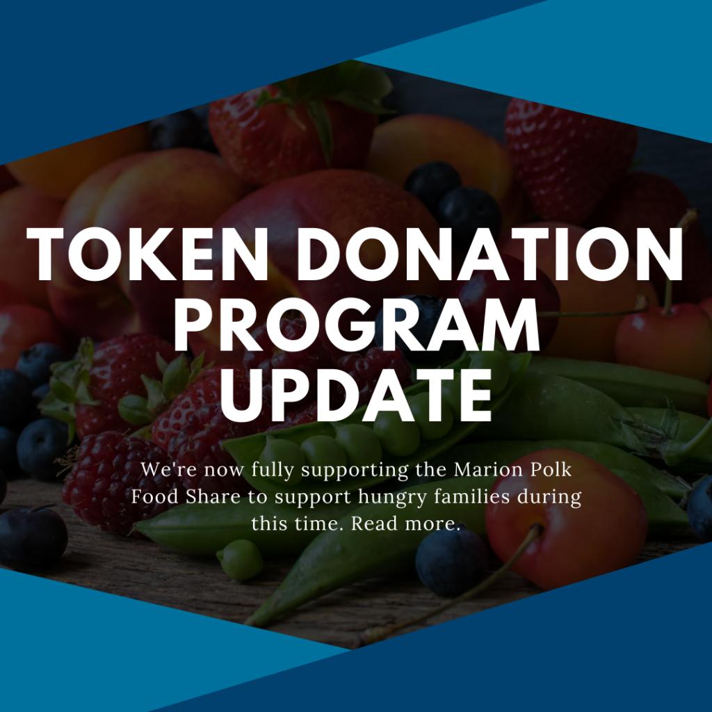 token donation program