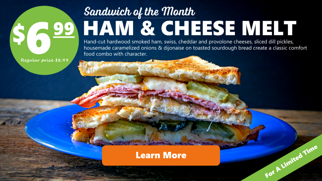 organic sandwich of the month