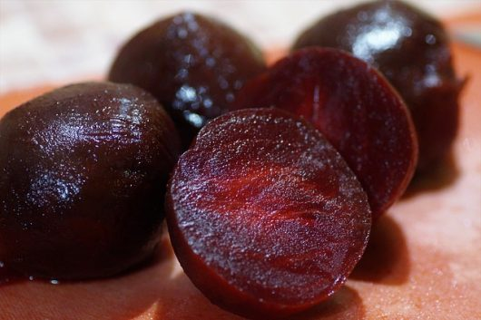 Peeled Red Beets