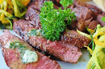 Marinated Grilled Beef Steak