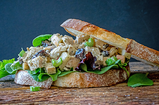 Chicken Salad on Crusty Sourdough