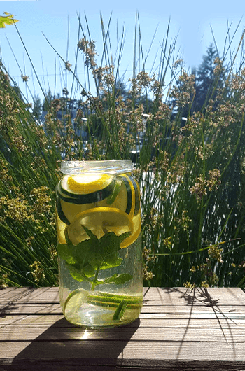 Vegetable-Infused-Spa-Water