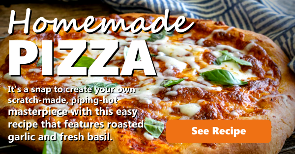 Recipe Homemade Pizza