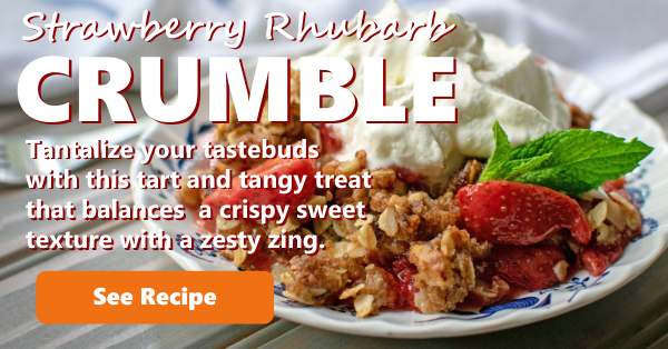 Recipe Strawberry Crumble