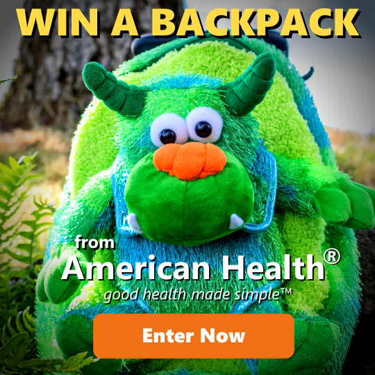 american health backpack giveaway