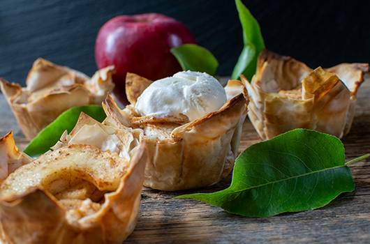 Apple Phyllo Cups LifeSource Recipe