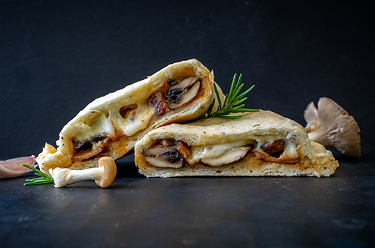 Wild Mushroom Calzones - LifeSource Recipes