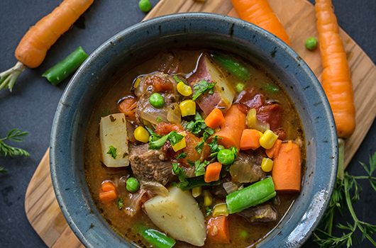 Vegetable Beef Bone Broth Soup LifeSource Recipes