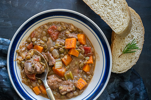 Lamb Stew With Lentils - LifeSource Recipes