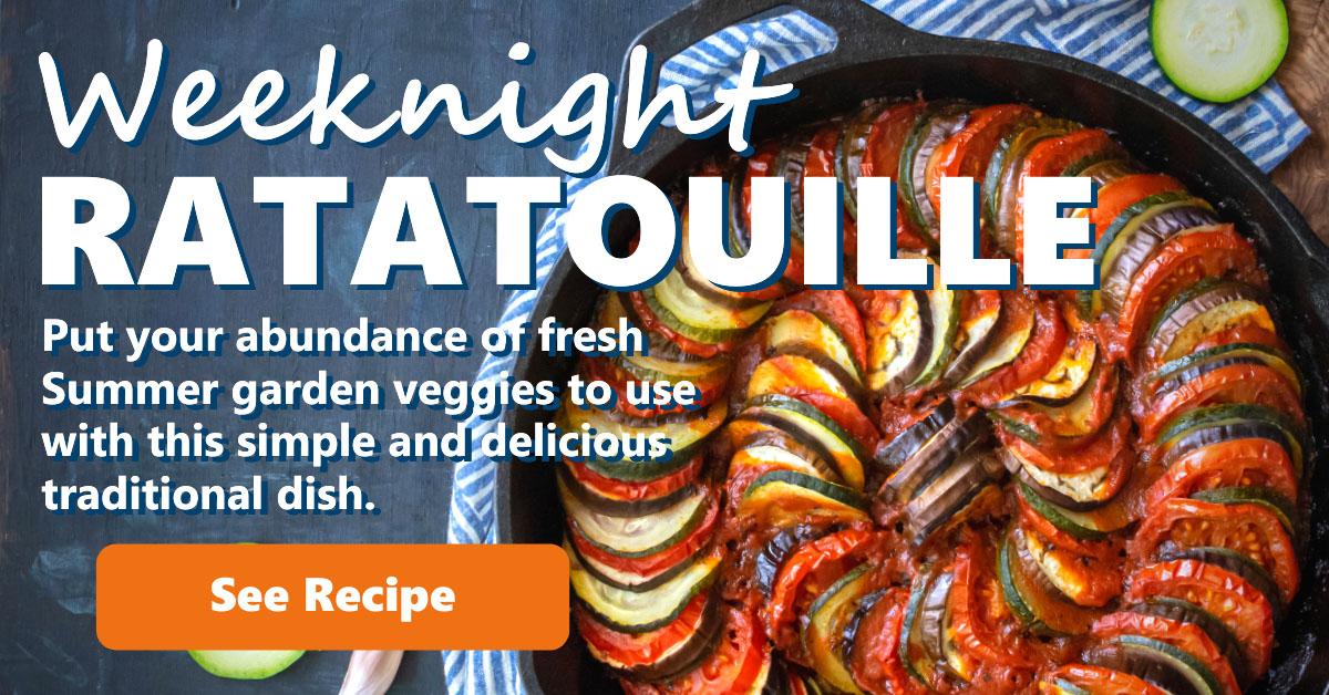 Weeknight Ratatouille