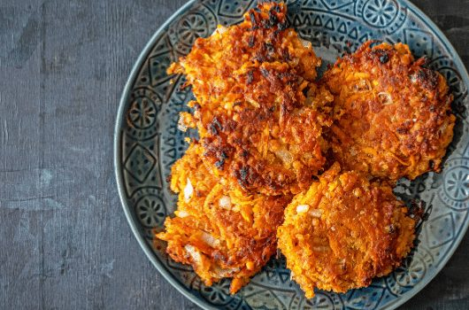 Butternut Squash And Red Lentil Fritters