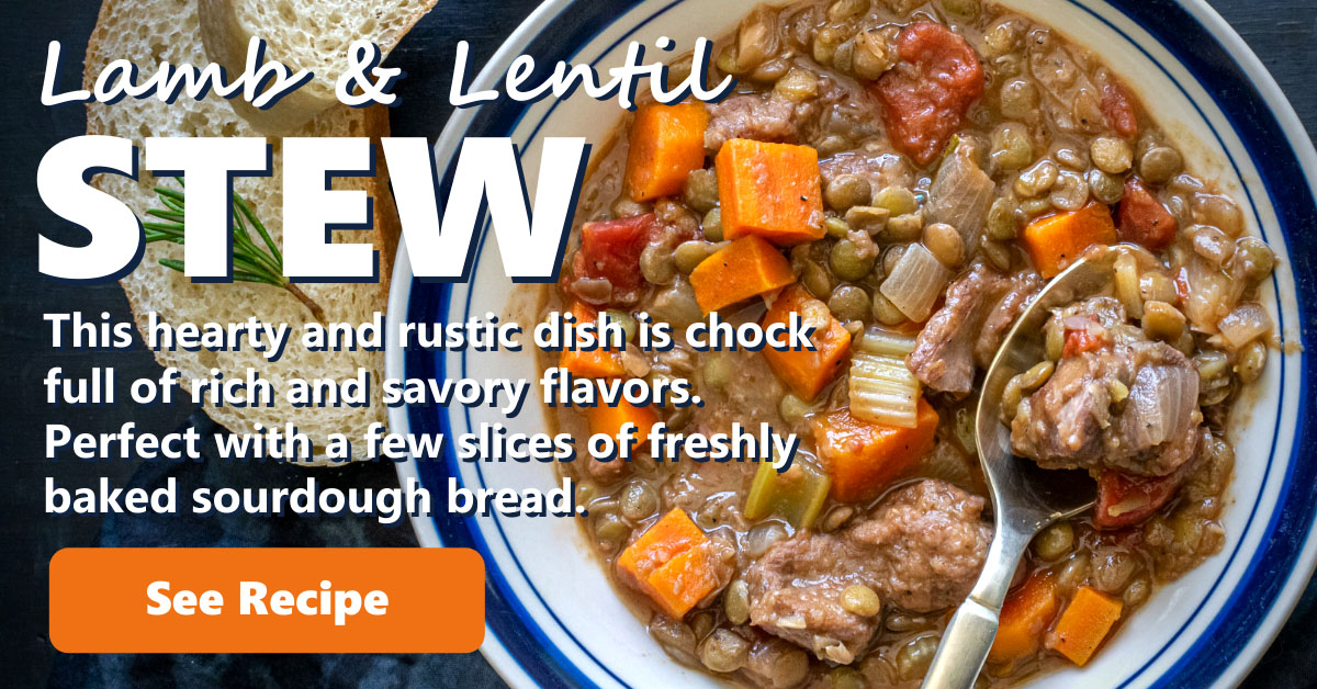 Lamb Stew With Lentils