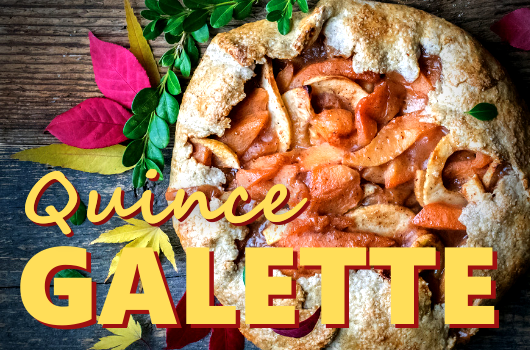 Quince Galette
