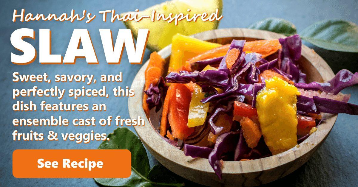 Hannah's Thai-Inspired Slaw
