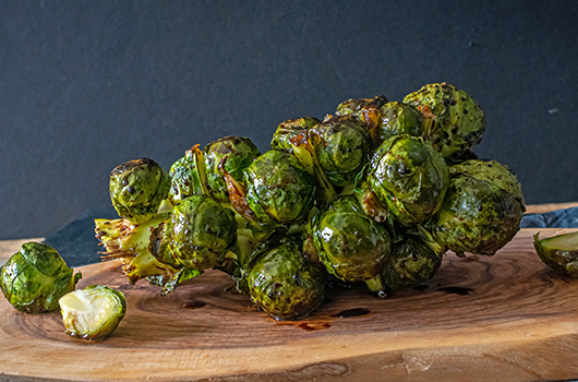 Recipe | Balsamic Glazed Brussels Sprouts