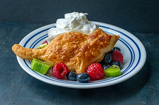 Effortless Puff Pastry and Fruit