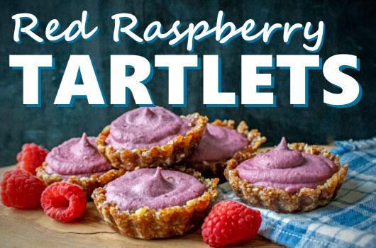 Raw Raspberry Tartlets