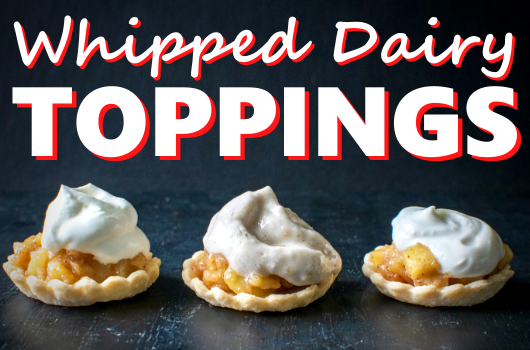 Whipped Dairy Toppings