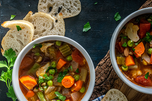 13 Bean Vegetable Soup
