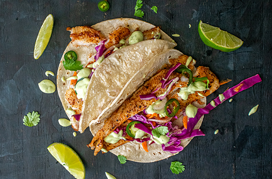 Dover Sole Fish Tacos