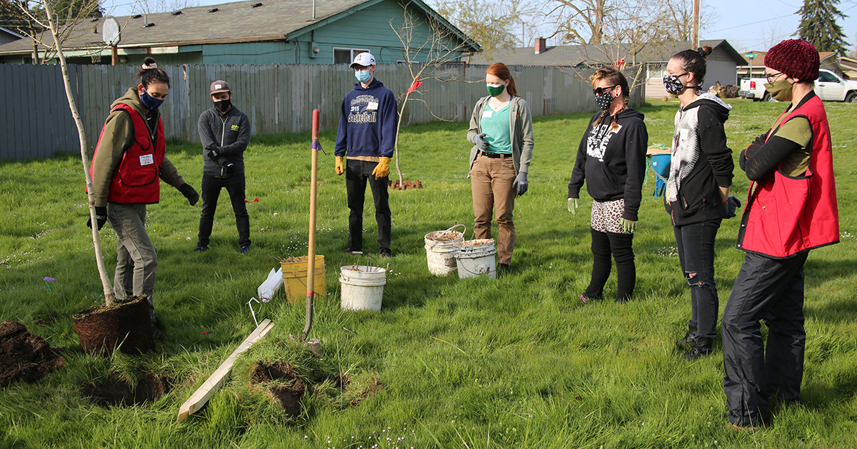 LifeSource Plants Trees Earth Day