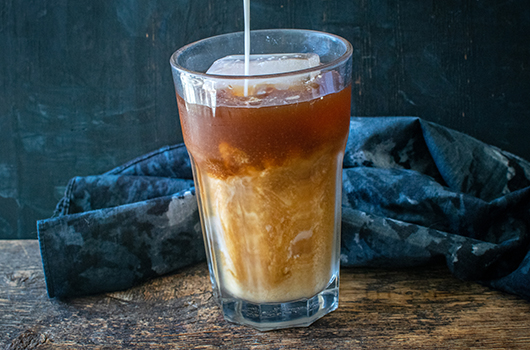 Moroccan Spiced Iced Coffee