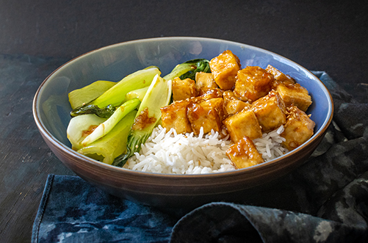 Sweet and Pungent Tofu Bowls