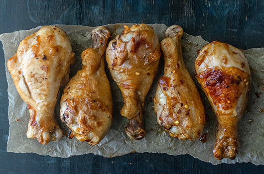 Sweet and Tangy Drumsticks